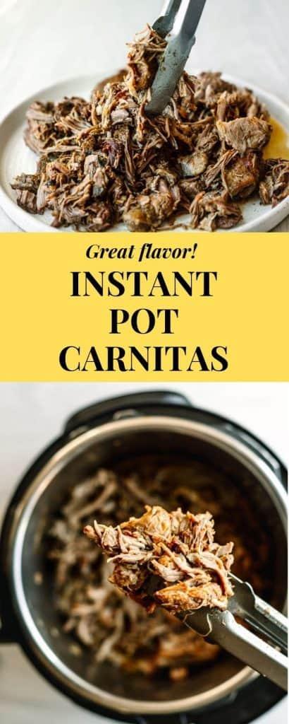 Instant pot carnitas