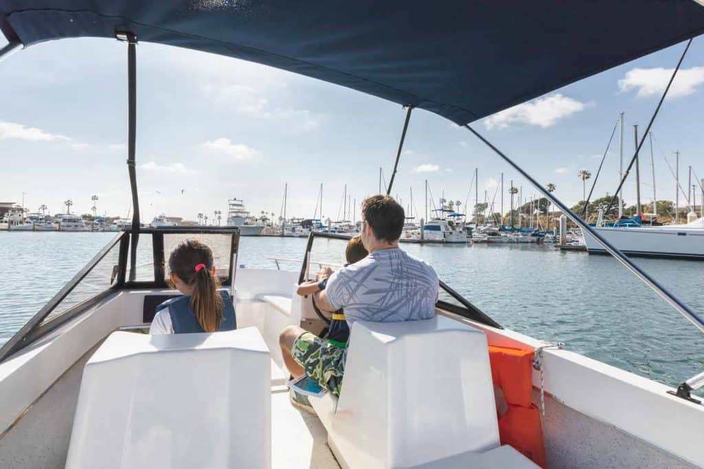Beginner Boating in San Diego with Family