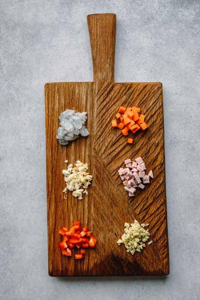 Fried Rice Recipe Ingredients