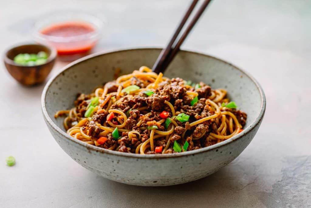 Hoisin Pork Noodles
