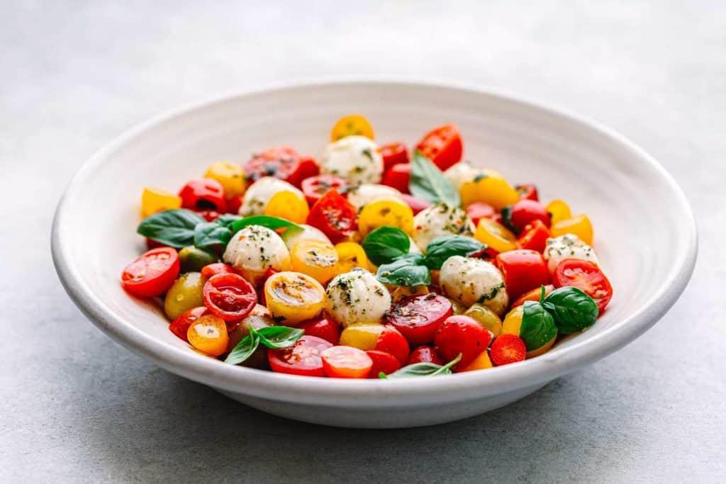 Tomato Mozzarella Salad Recipe - Caprese Salad