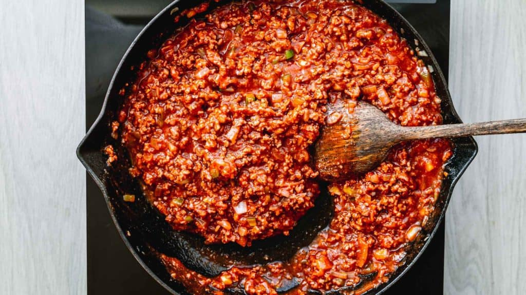 How to Make a Tasty Sloppy Joes without Manwhich