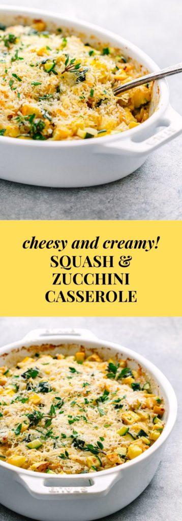 Summer Squash and Zucchini Casserole