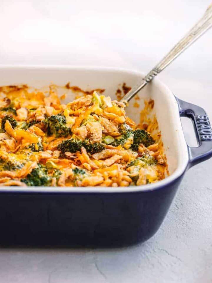 Fresh Broccoli Casserole