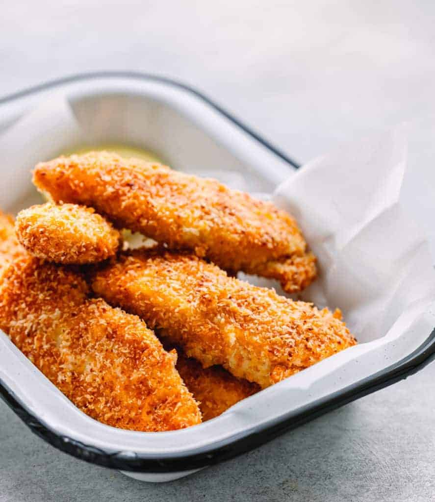 Healthy Baked Chicken Tenders recipe
