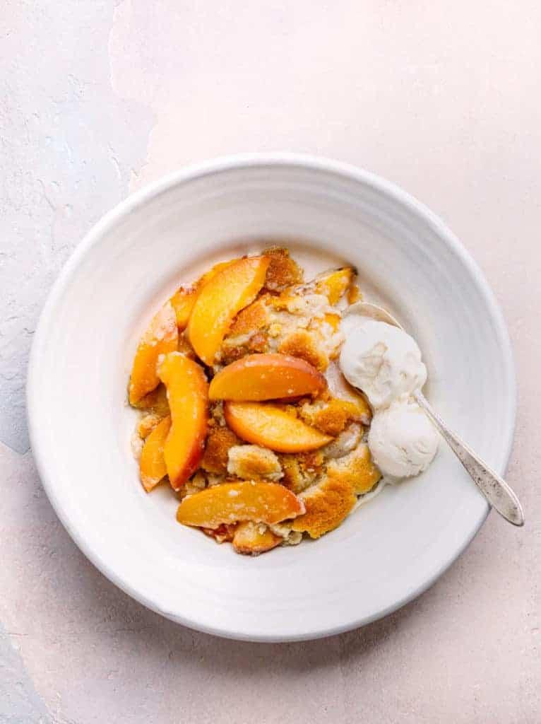 Southern Peach Cobbler Recipe - Best Ever!