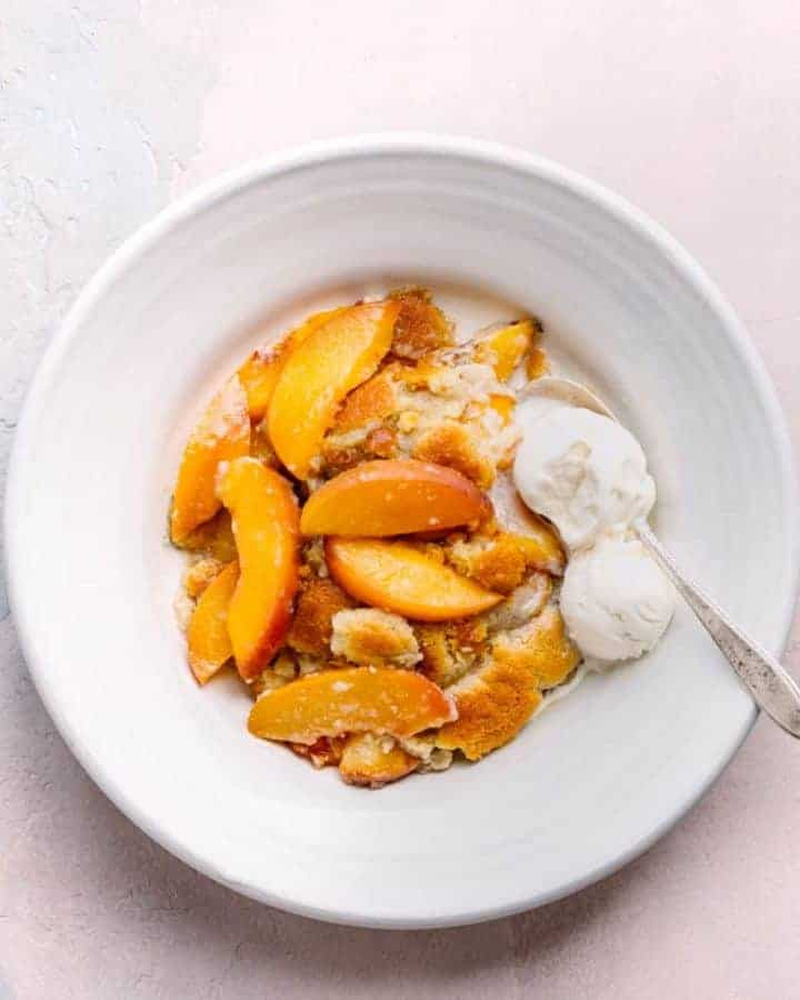 Southern Peach Cobbler Recipe - Best Ever!
