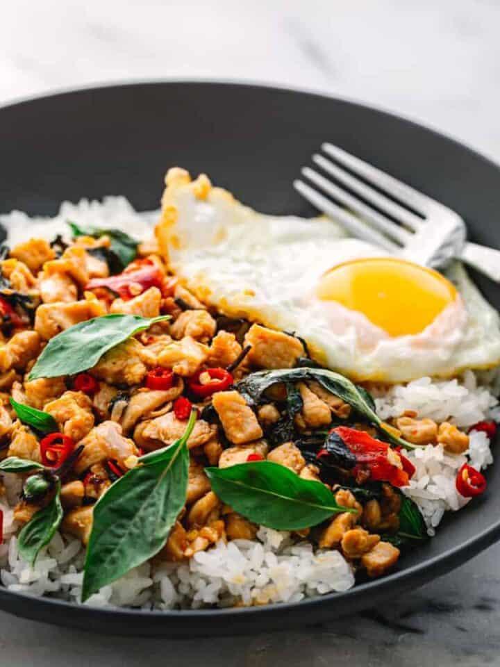 Thai Basil Chicken Pad Krapow Gai
