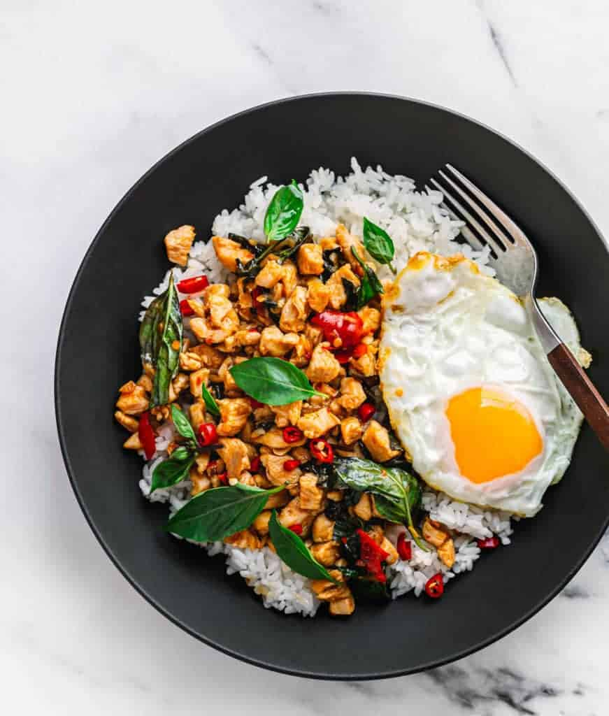 Thai Basil Chicken Pad Krapow Gai