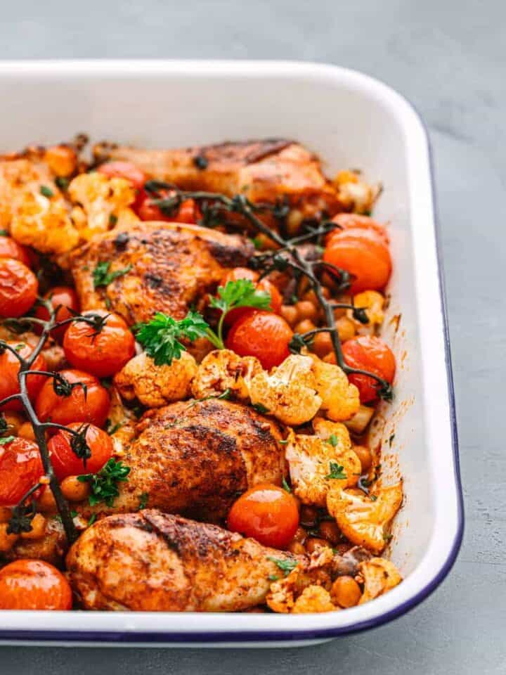 Mediterranean Roast Chicken