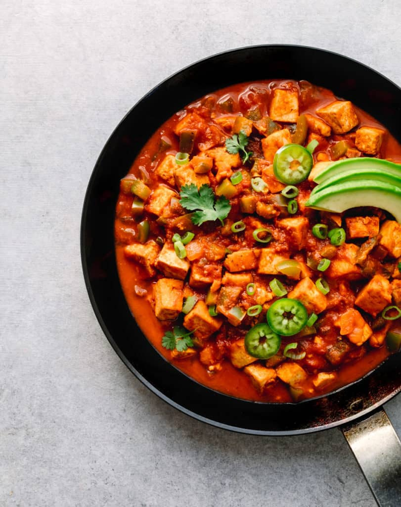 Tofu Ranchero - Vegetarian Mexican Food