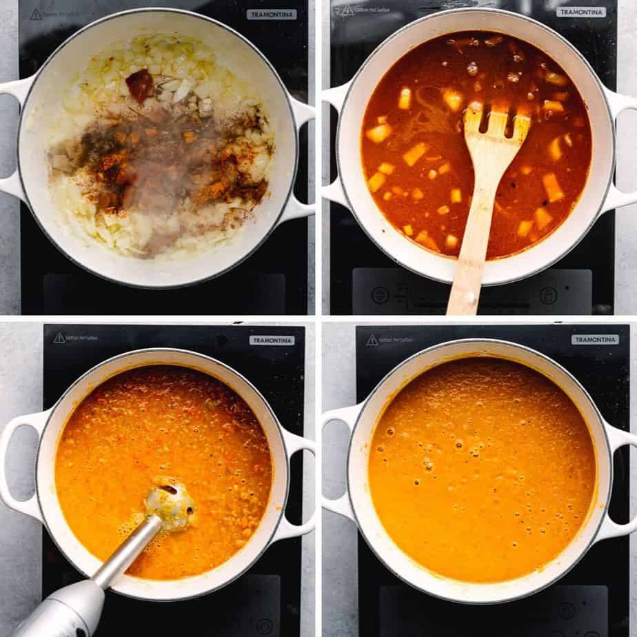 How to Cook Carrot and Lentil Soup