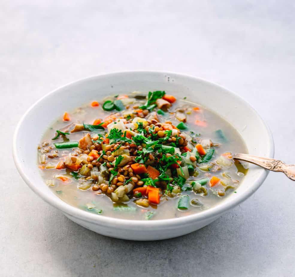 Instant Pot Lentil Soup
