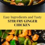 Stir Fry Ginger Chicken Recipe