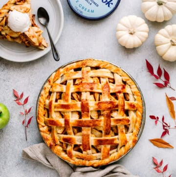 Apple Pie with Cheddar Cheese