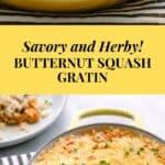 Butternut Squash Gratin Recipe