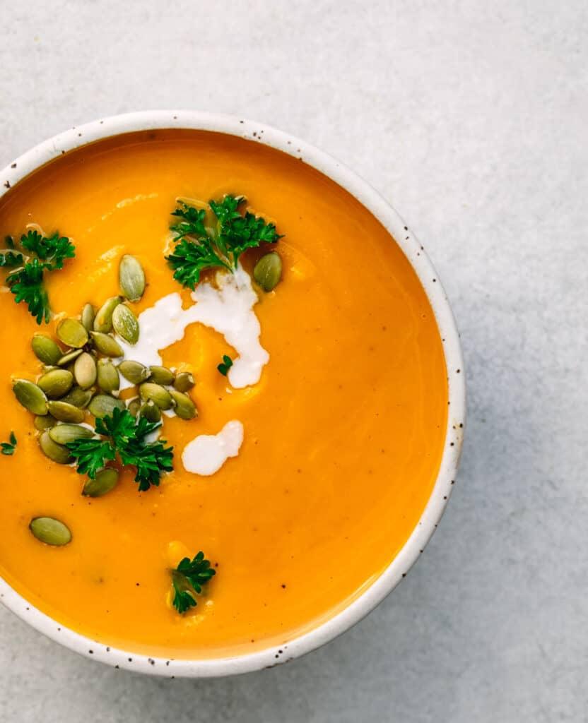 Pressure Cooker Pumpkin Soup