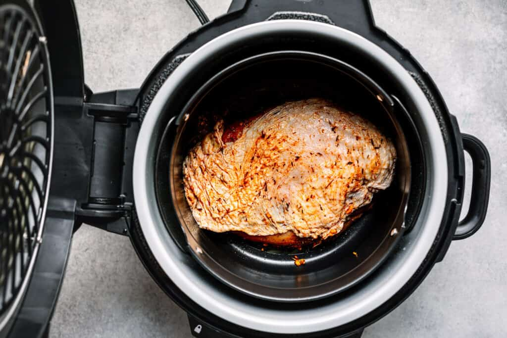 How to cook turkey breast in a pressure cooker or Ninja Foodi