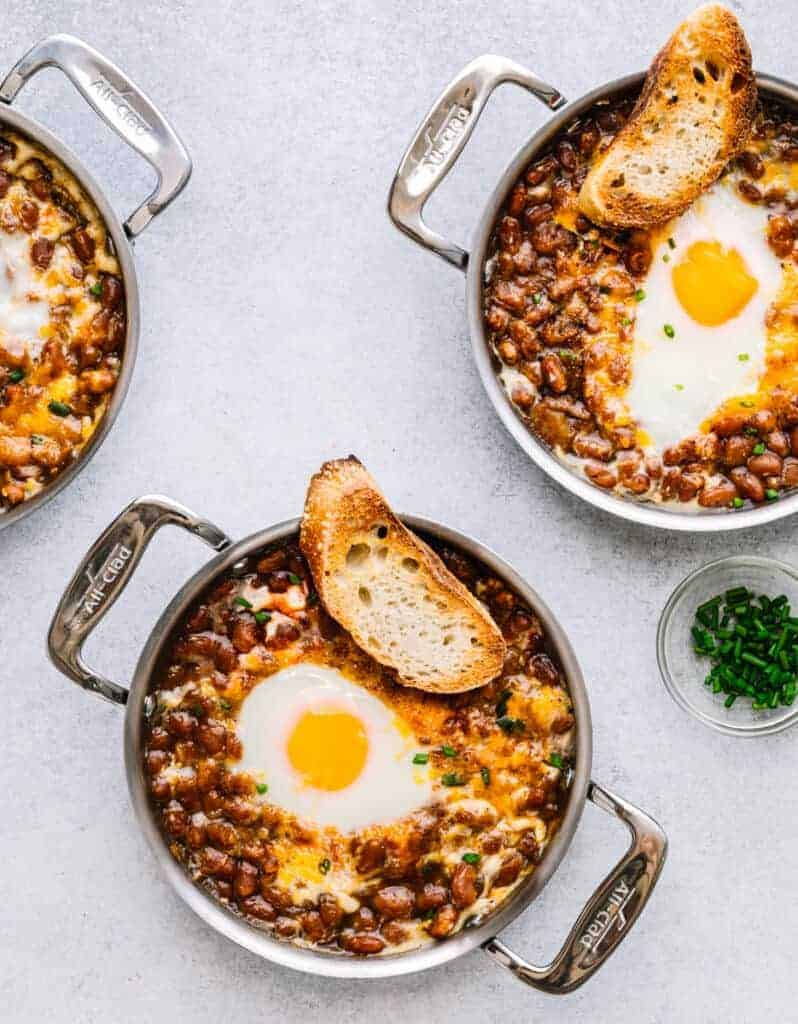 Egg and Baked Beans