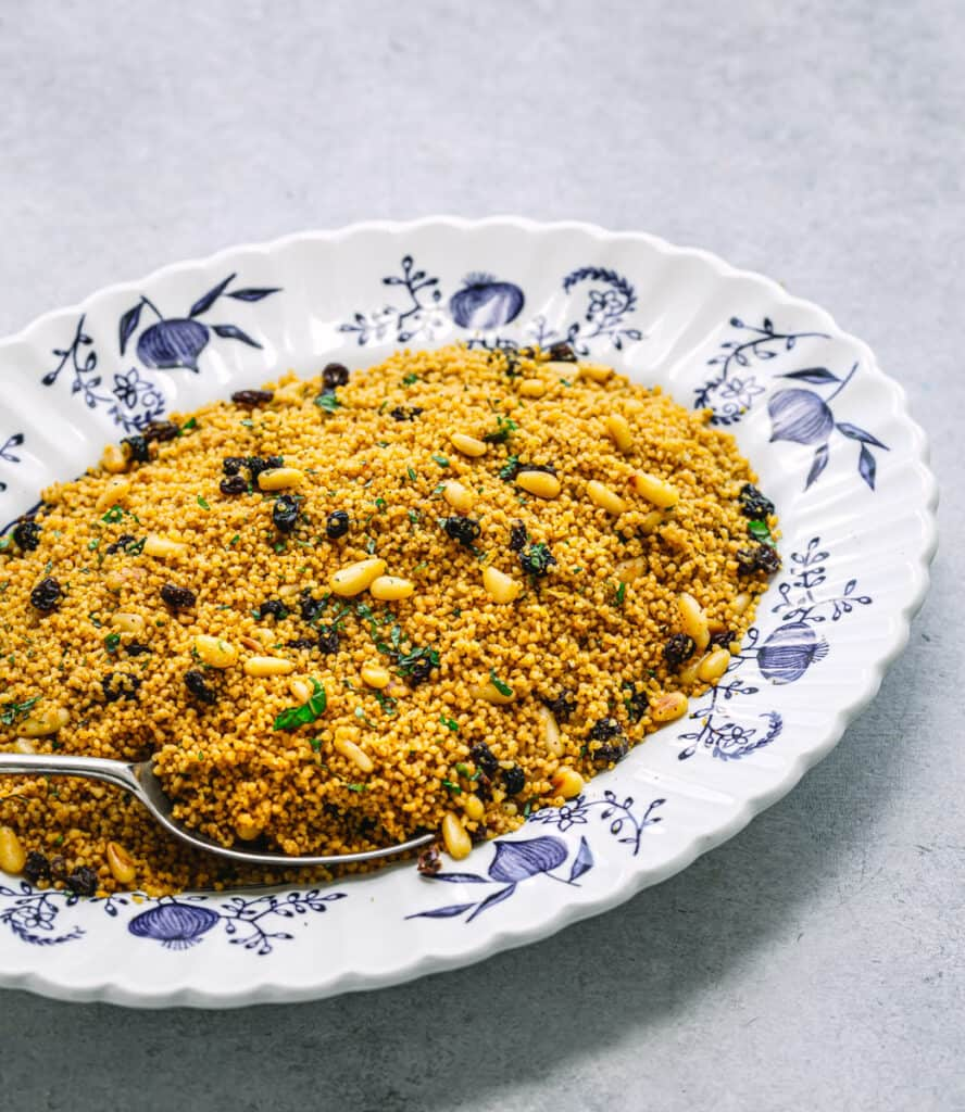 Morrocan Couscous with Currants