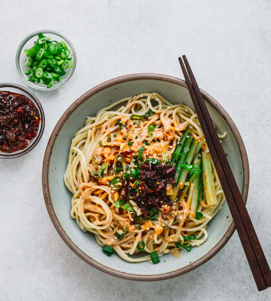 Taiwanese sesame noodles