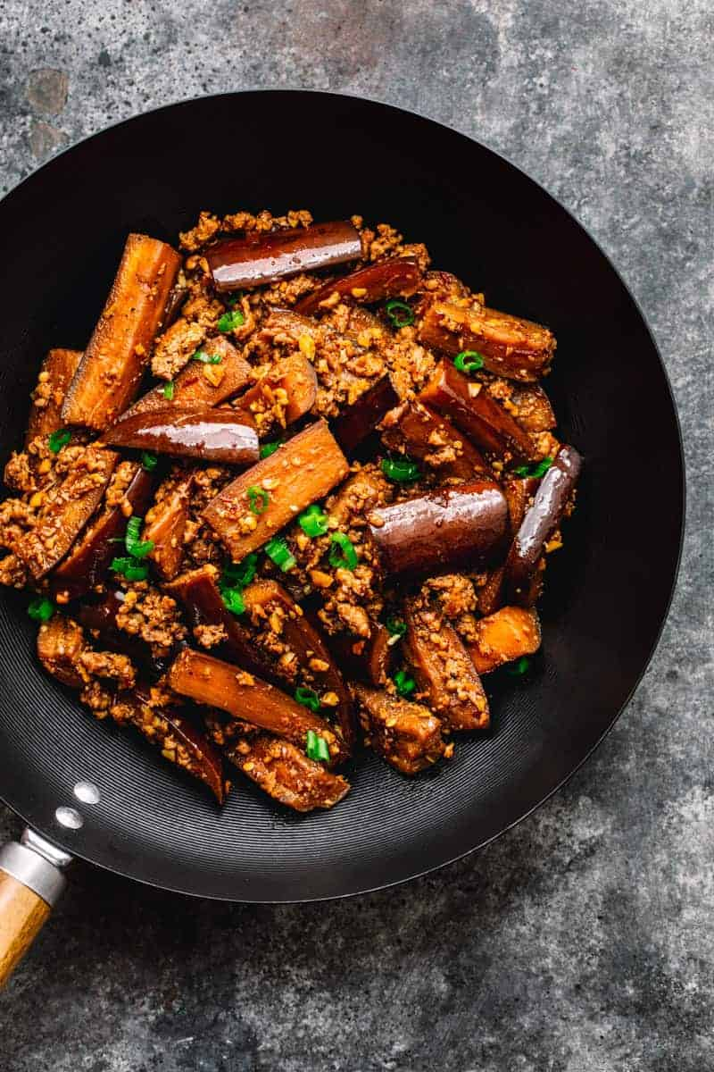Chinese Eggplant With Minced Pork Posh Journal