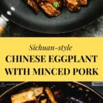 Chinese Eggplant with Minced Pork