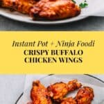 Instant Pot Chicken Wings with Buffalo Sauce
