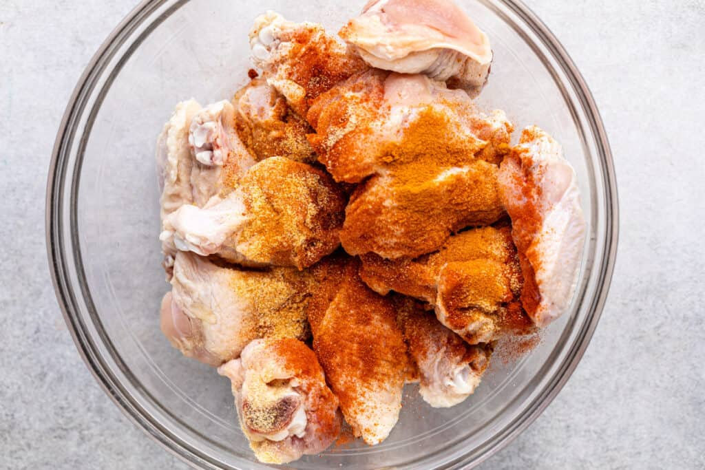 Chicken Wings with Dry Seasoning