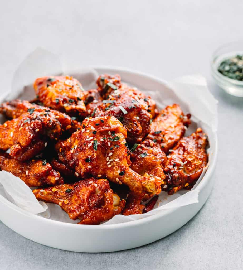 Korean BBQ Wings (Instant Pot or Oven Baked)