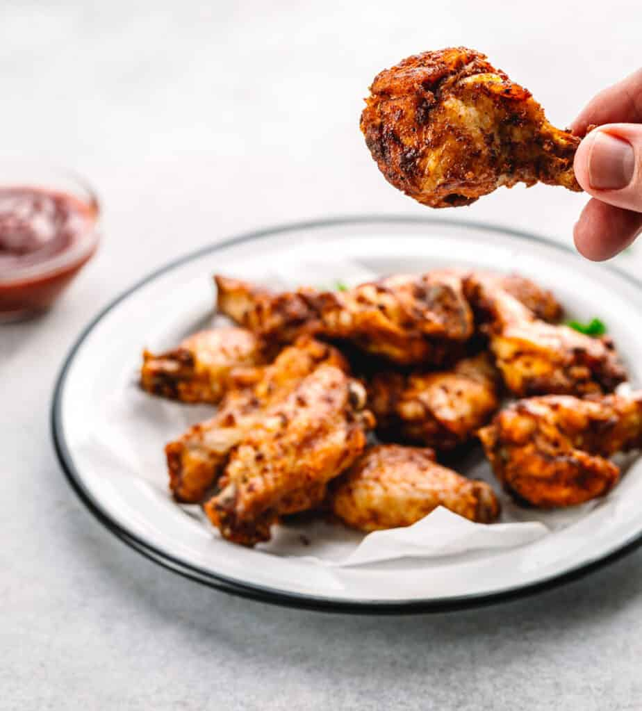 Dry Rub Chicken Wings Oven Baked or Instant Pot