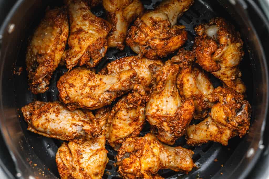 Ninja Foodi Dry Drub Chicken Wings