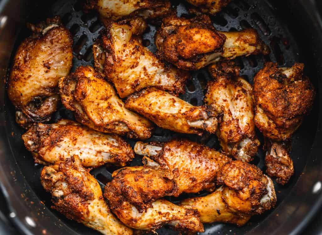 Instant Pot Dry Rub Chicken Wings