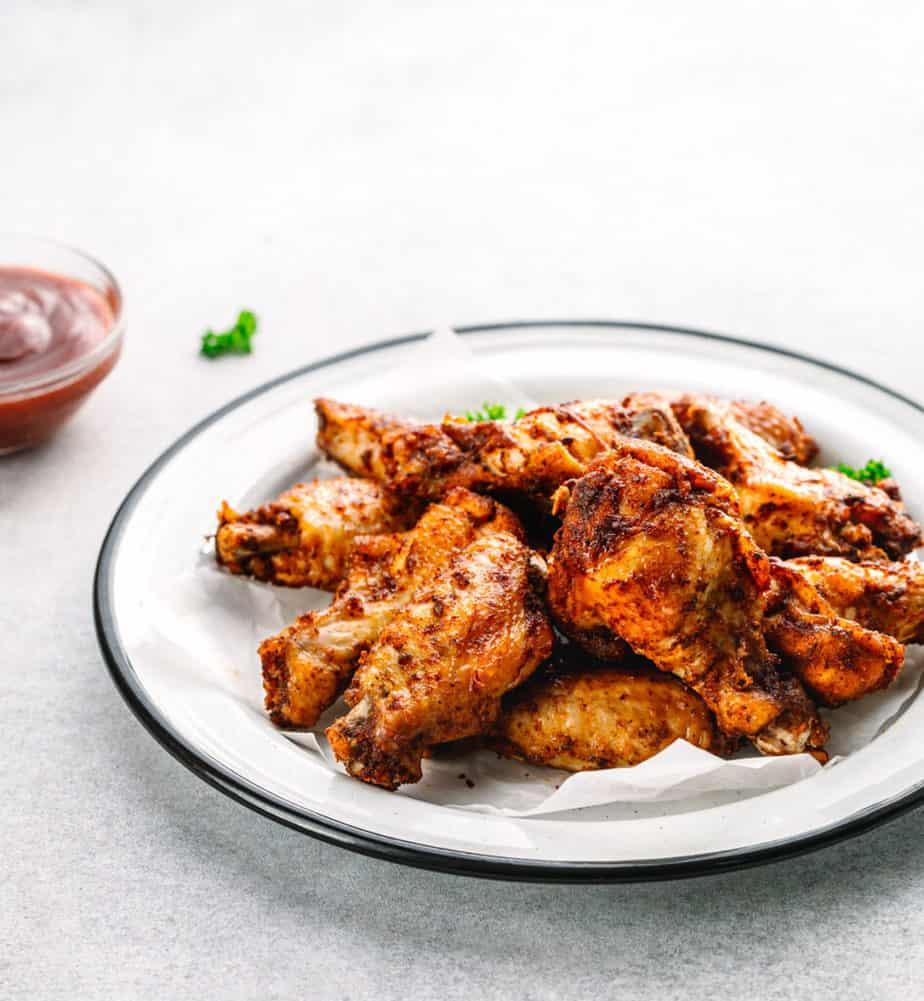 Dry Rub Chicken Wings