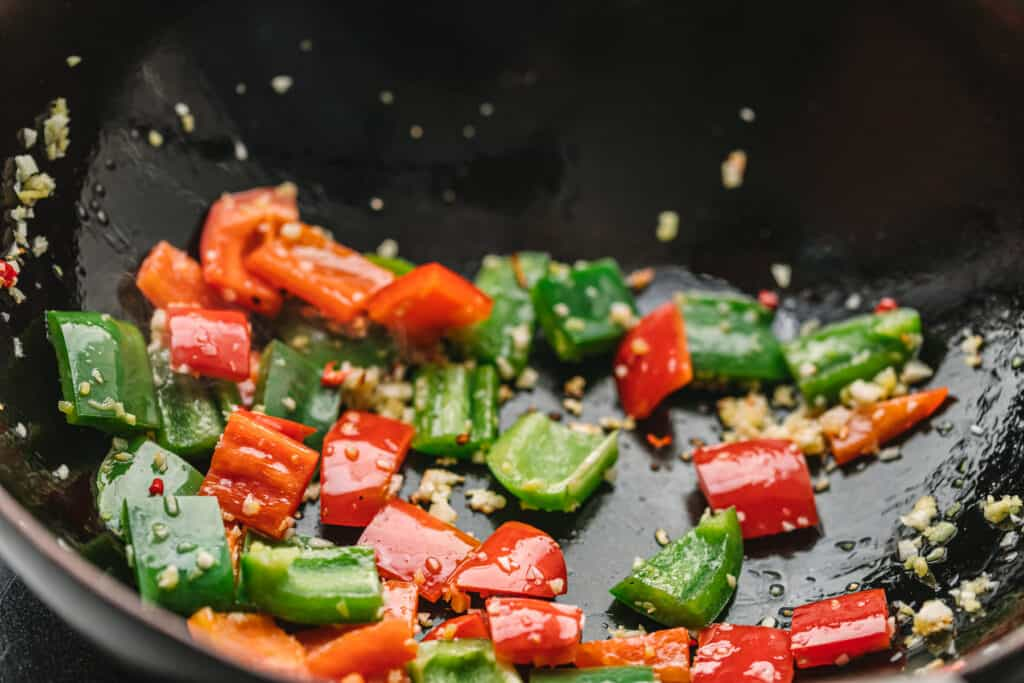 Stir Fry Bell Pepper