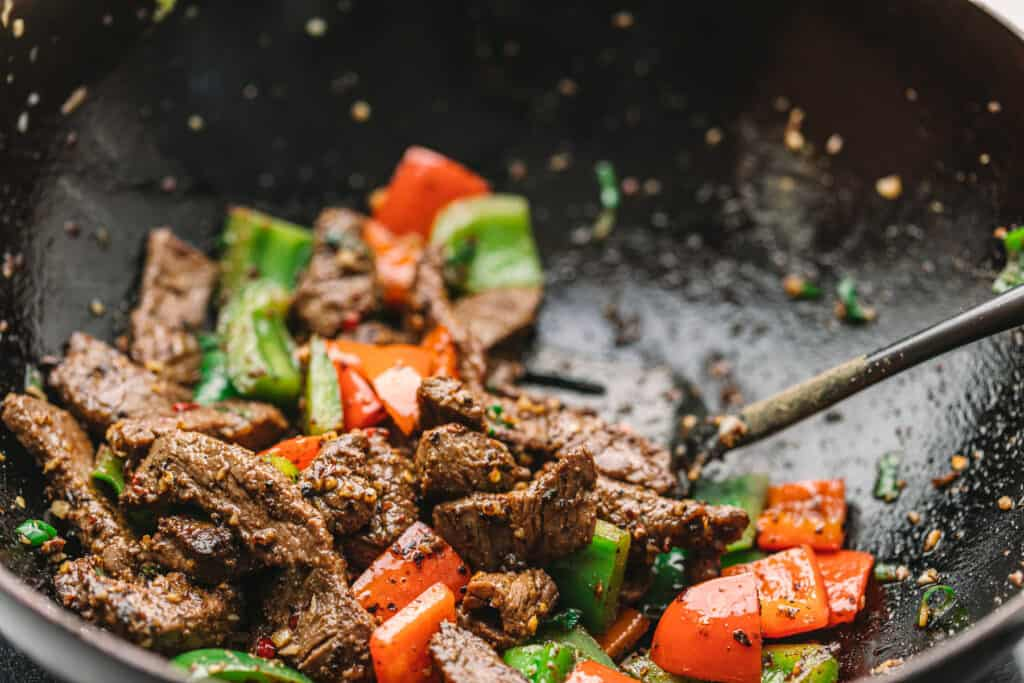 Stir Fry Beef and Cumin
