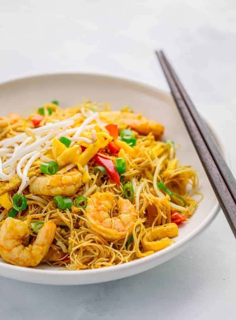 Xing Zhou Mi Fen Singapore Noodles
