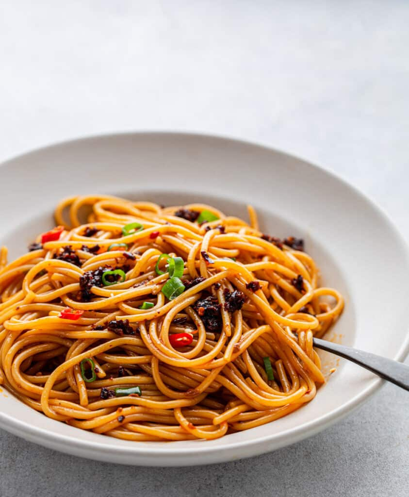 Spicy Sichuan Noodles