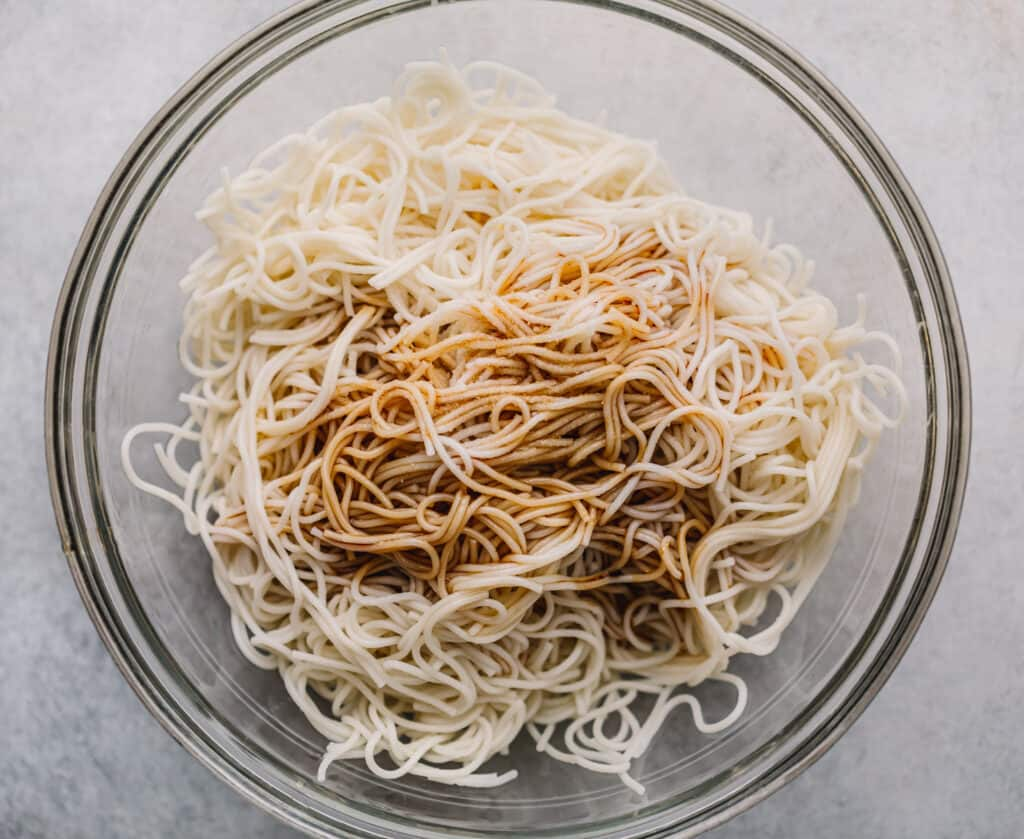 Dry Noodles Recipe