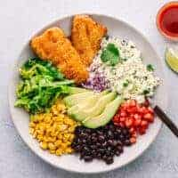Crispy Fish Taco Bowl