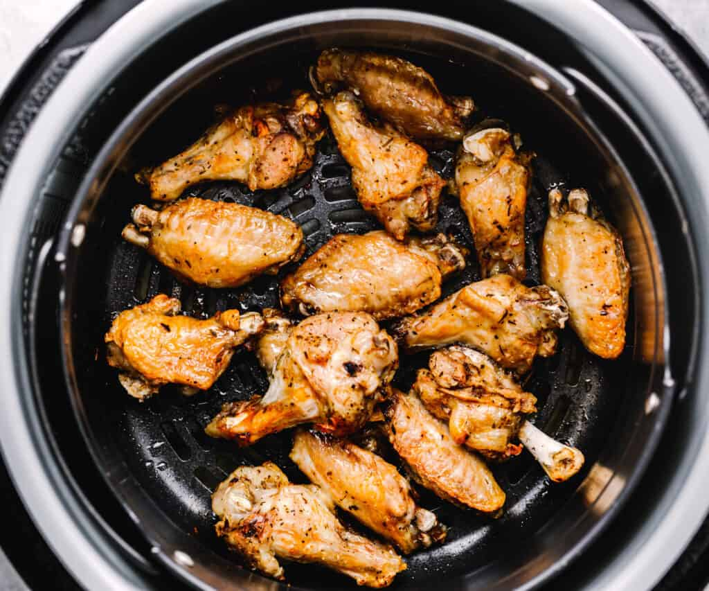Instant Pot Garlic Parmesan Chicken Wings