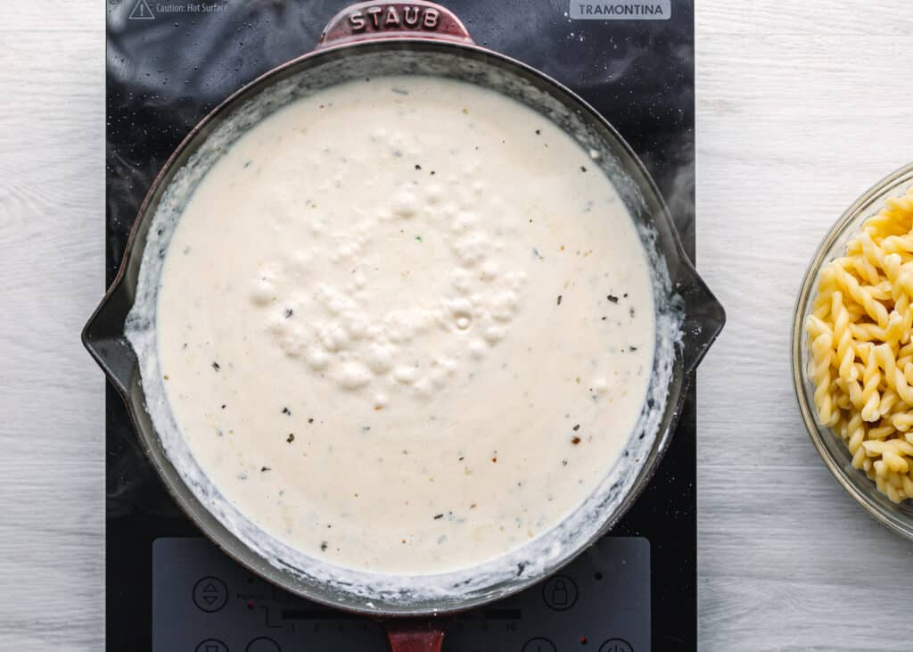 white sauce for pasta recipe