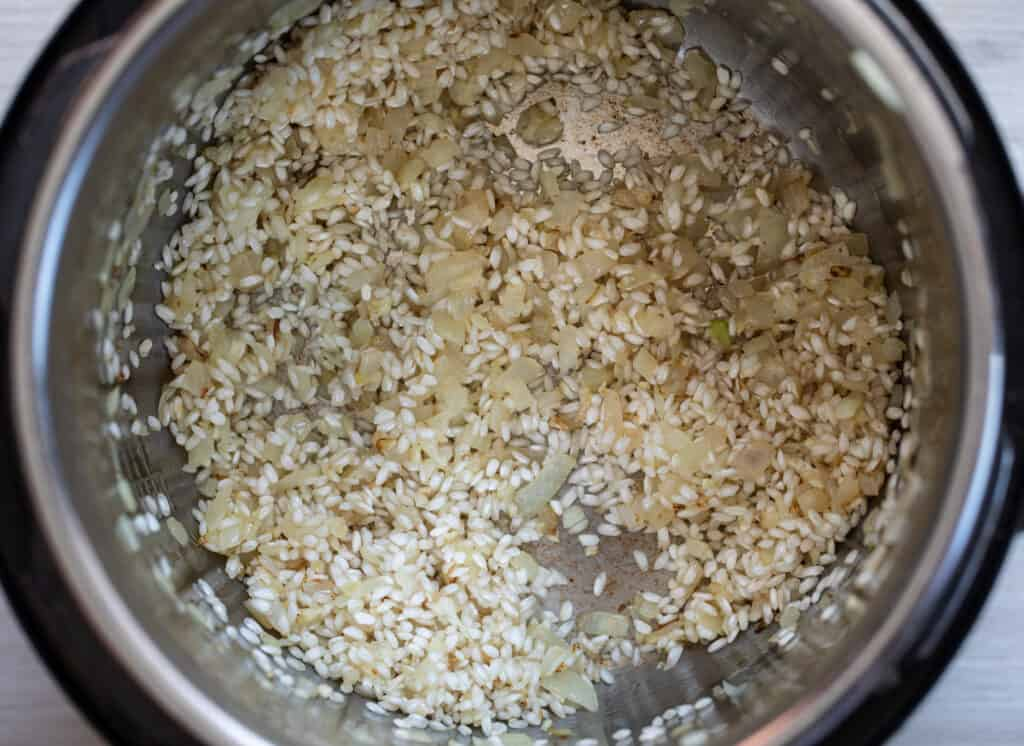 How to Cook Risotto in an Instant Pot