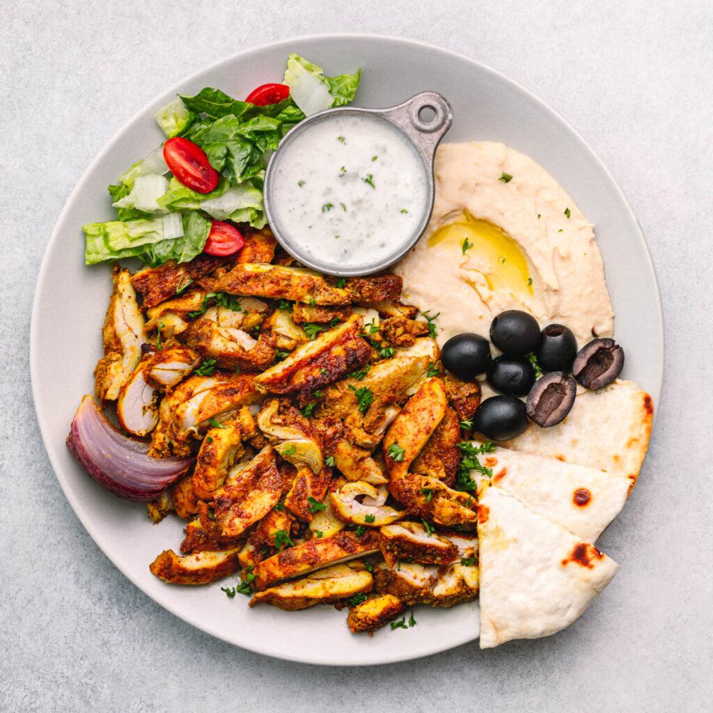 Chicken chawarma Recipe