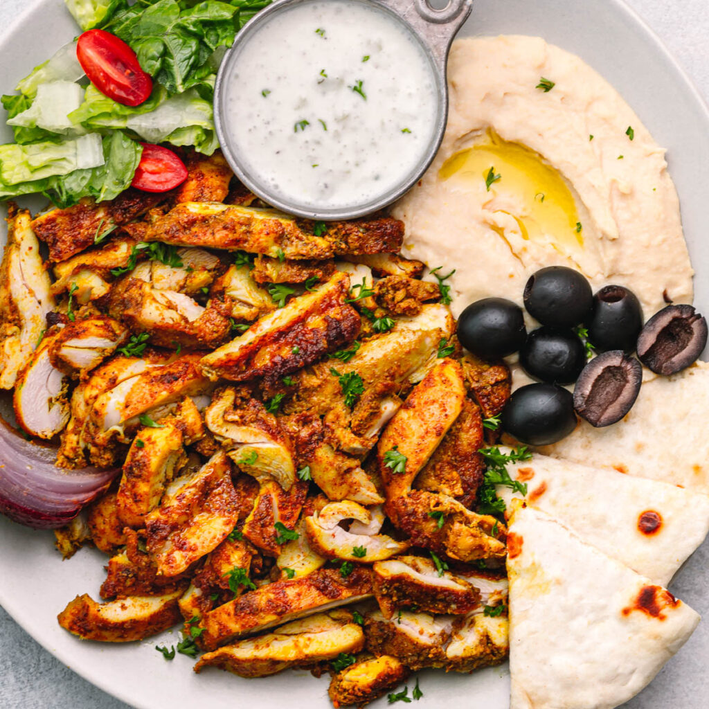 Middle Eastern Shawarma