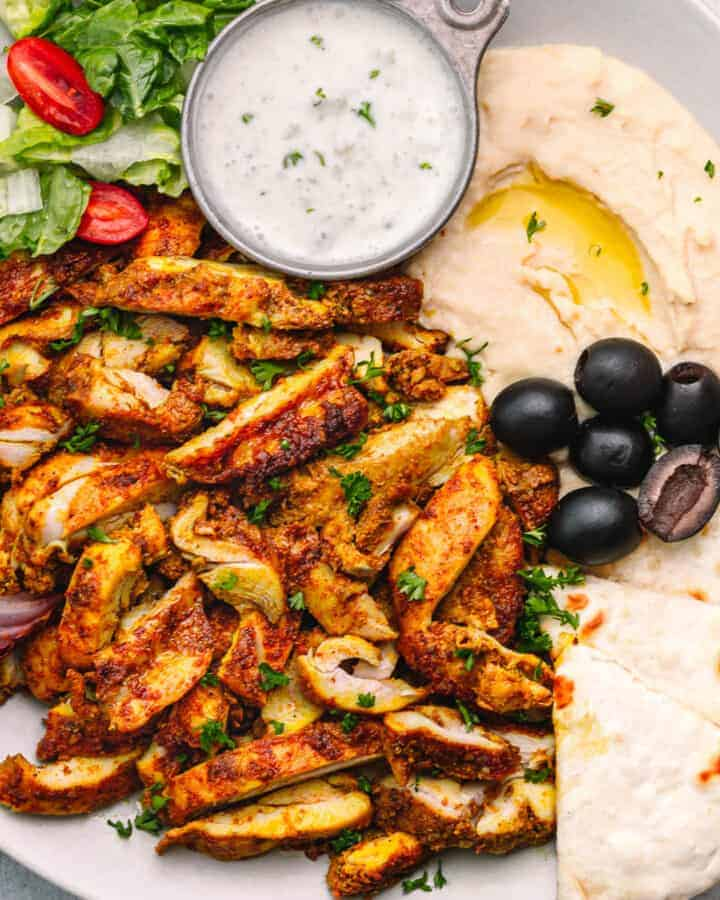Middle Eastern Chicken Shawarma