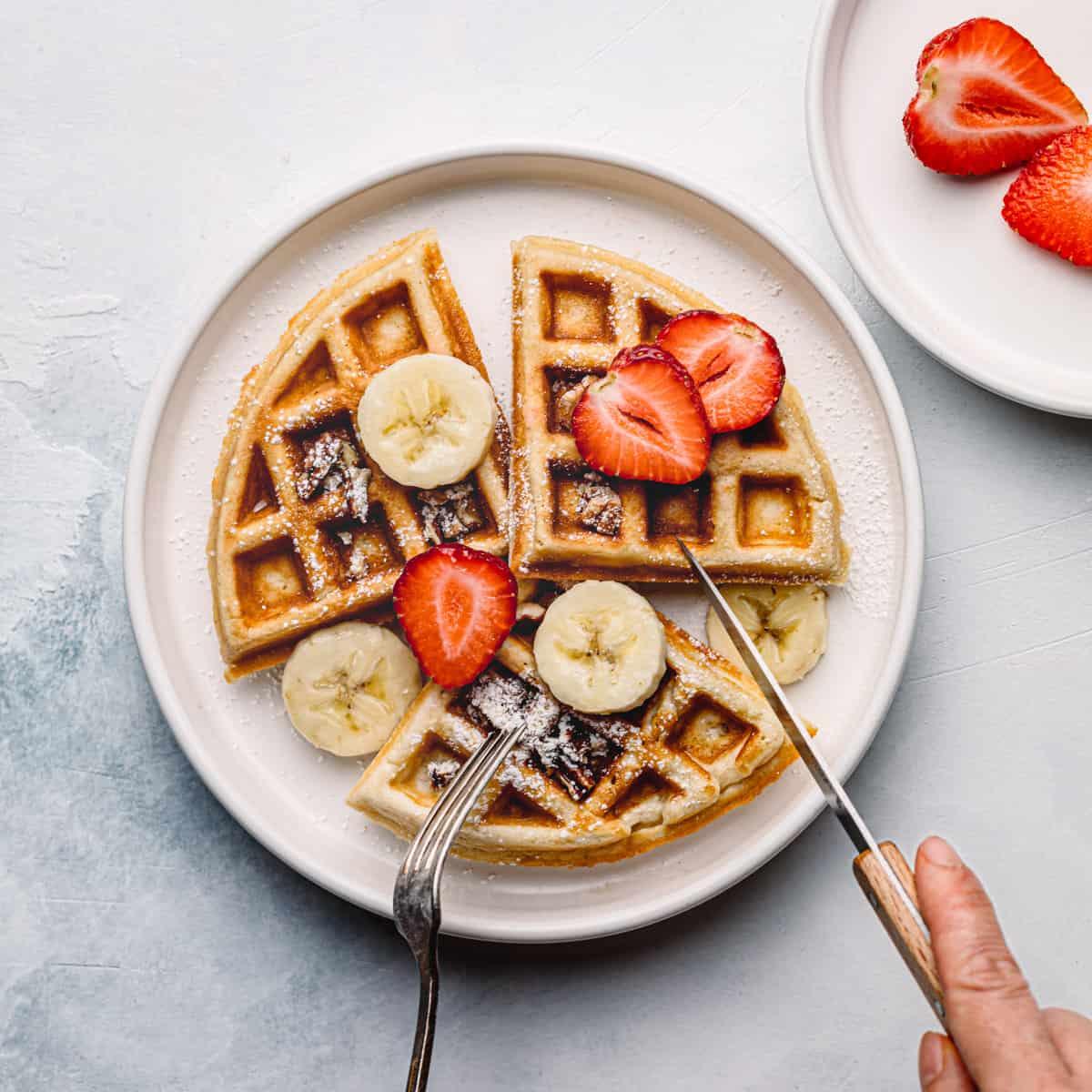 The Best Belgian Waffles Recipe