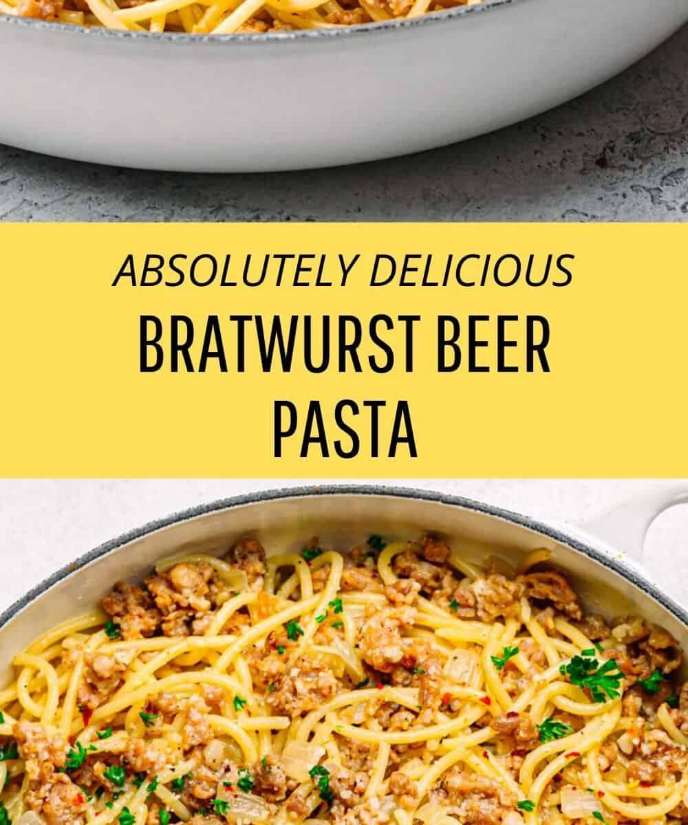 bratwurst pasta recipe