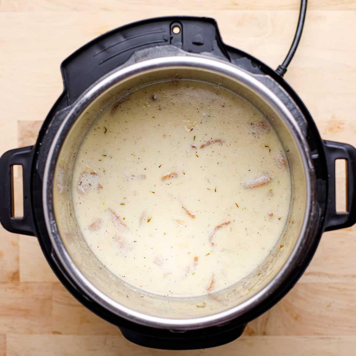 Creamy chowder