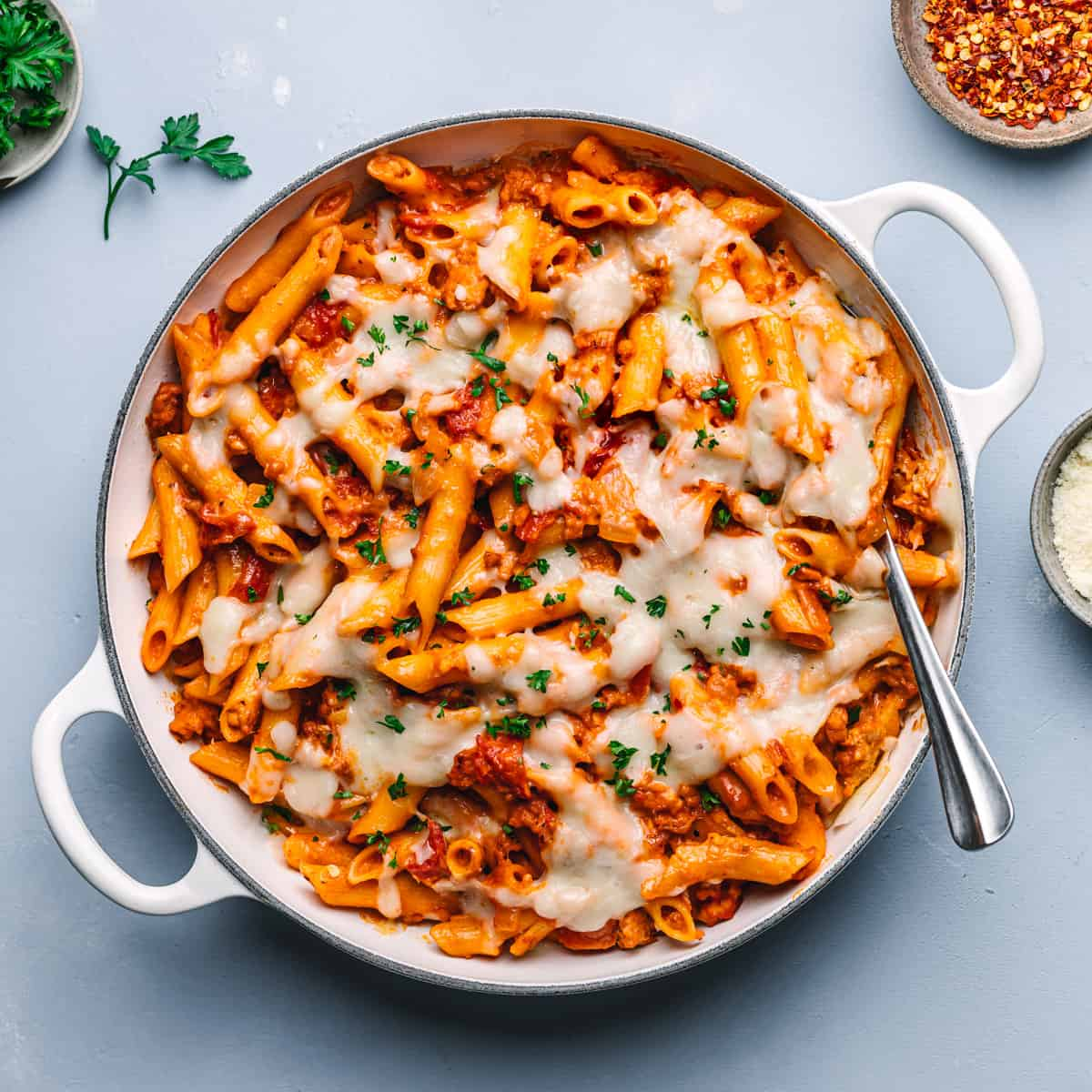 One-Pot Penne Pasta